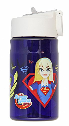 (Thermos 12 Ounce Tritan Hydration Bottle, Super Hero Girls)