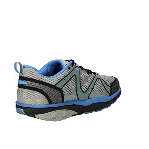 MBT Sneakers Hombre Textil (42 EU, Gris/Azul)