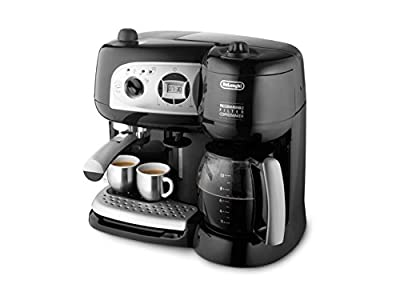 Delonghi BCO264.1 Pump Espresso Machine and 10-Cup Coffee Maker, 220 Volts (Not for USA)