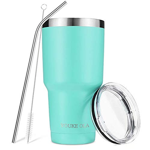 Stainless Steel Tumbler 30oz - Vacuum Insulated