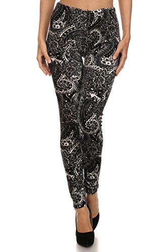 Velour Leggings Pants - 4