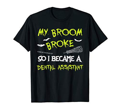 Dental Assistant Halloween Costume Shirt Funny Easy Lazy T-Shirt