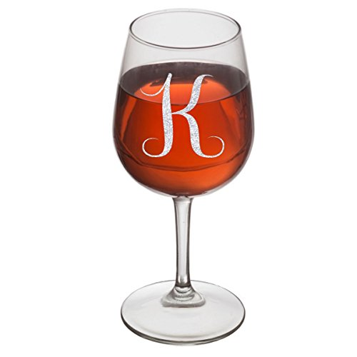 On The Rox Drinks Engraved Wine Glass, 12.75 (Custom Glasses)