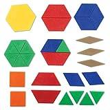 Learning Resources Plastic Pattern Blocks, Math