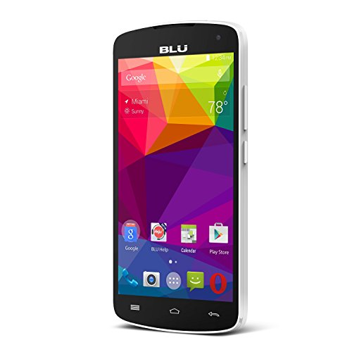 BLU Studio X8 HD - 5.0'' GSM Unlocked Smartphone -White by BLU