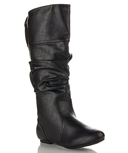 Black Basic Work Boot - 5