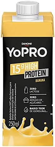 Bebida Láctea com 15g de proteína Banana YoPRO 250ml