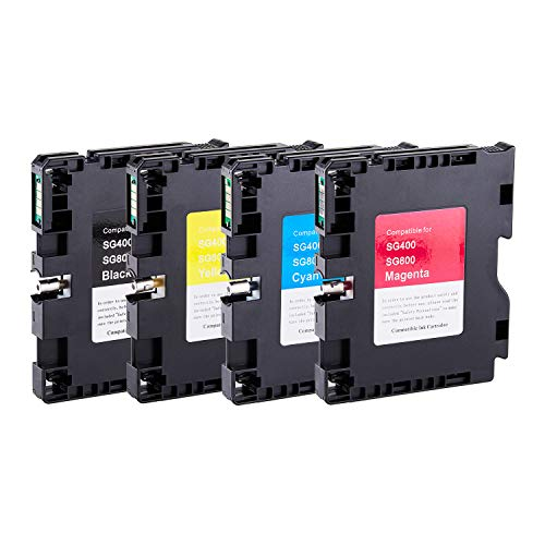 - PRINTANDINK Compatible Sawgrass Transfer DYE Sublimation Ink Cartridges for Sawgrass SG400NA SG800NA (Heat Transfer)