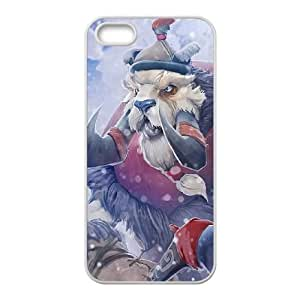 Dota 2 iPhone 5 5s Cell Phone Case White yyfD-046702
