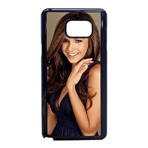 Nina Dobrev_004 High Quality Specially Designed Skin cover Case For Samsung Galaxy Note 5 Black