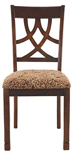 home, kitchen, furniture, kitchen, dining room furniture,  chairs 8 image Ashley Furniture Signature Design - Leahlyn Dining Upholstered Side promotion