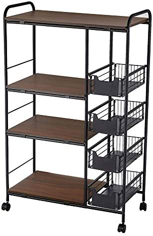 IKAYAA Kitchen Cart Kitchen Multi-Layer Storage Stand