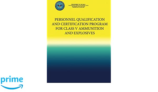 Personnel Qualification and Certification Program for Class ...
