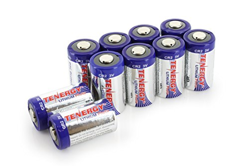 10 pcs Tenergy Propel CR2 3V Lithium Battery with PTC Protection (Cr2 3v Lithium Battery)