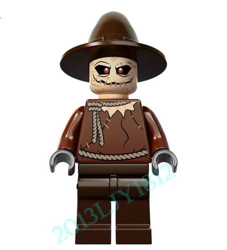 Shalleen 10 PCS Lot Set Scarecrow Figures Lot Suicide Squad Bricks Blocks Toys