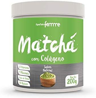 Matchá Soluvel Enriquecido (Sabor Natural), Apisnutri