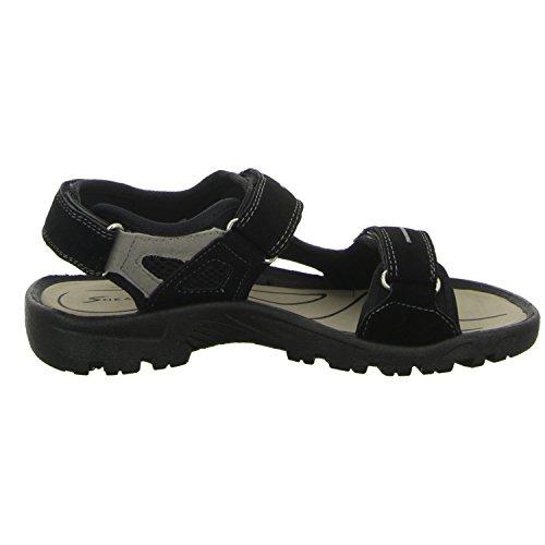 Sneakers FH-24301 Unisex Kinder Sandalette Schwarz (Schwarz)