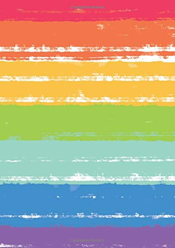 Flag Stripe Gay Pride Rainbow Journal: LGBT Dotted Grid Paper Notebook for Bullet Journaling pdf epub