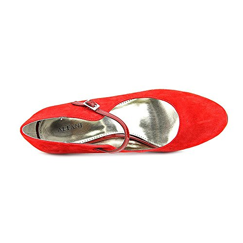 Alfani Syssy Women Us 6.5 Red Mary Janes
