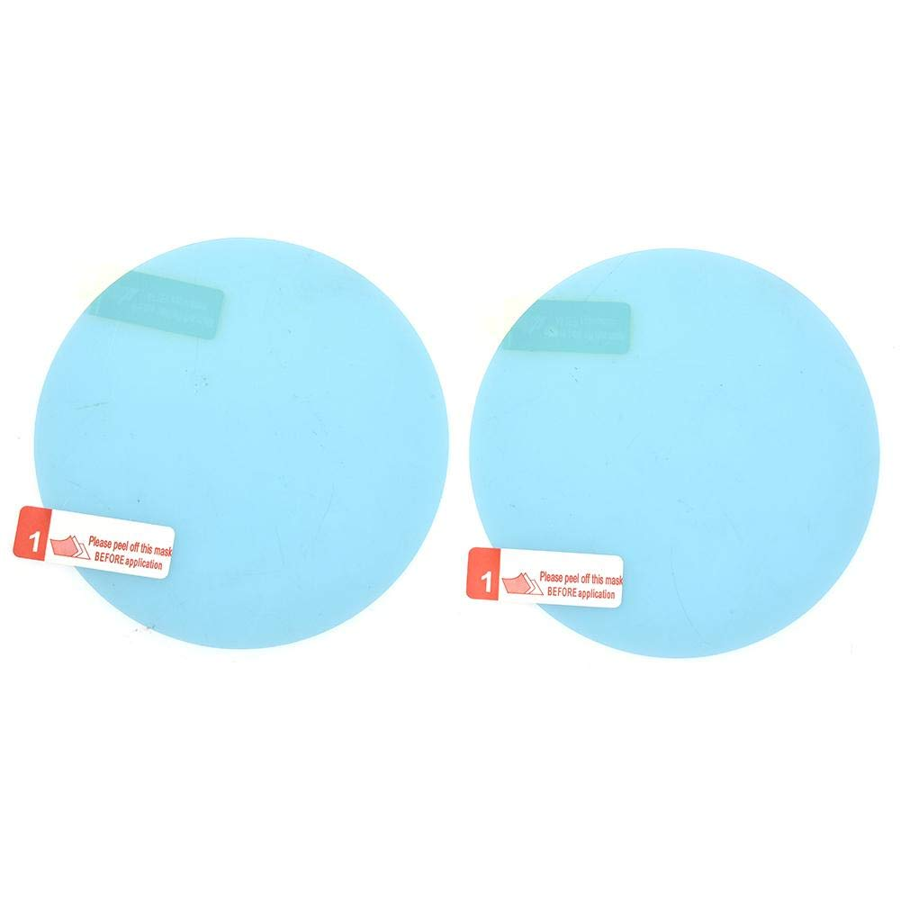 Waterproof Rainproof Rear View Mirror Film,Car Rearview Mirror Window Protective Film Blind Spot Mirrors,Suitable For All Automobile /& Vehicle Models 2 Pcs Car Rearview Mirror Protective Film