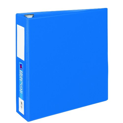 on sale avery heavy duty binder with 3 inch one touch ezd ring blue