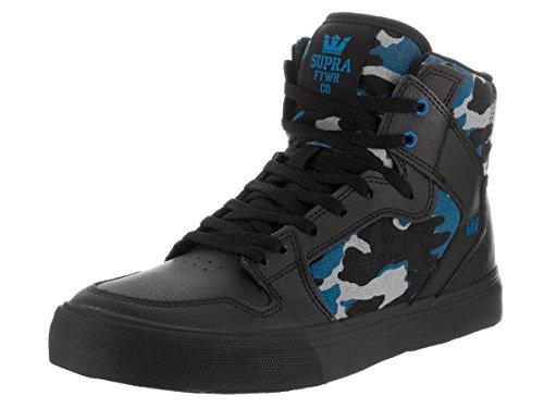 Supra VAIDER Unisex-Kinder Hohe Sneakers Noir