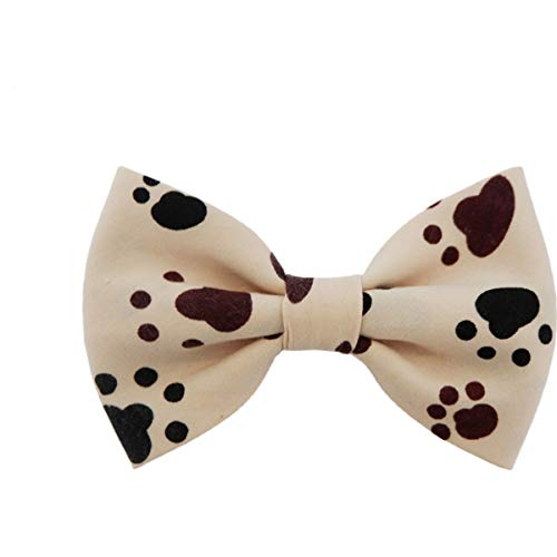 THE DOK Paws – Dog Cat Pet Bow Tie Bowtie Collar Accessory 4 inch