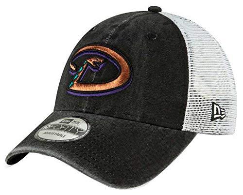 New Era 2019 MLB Arizona Diamondbacks Baseball Cap Hat 1998 Cooperstown Trucker Black/White ()
