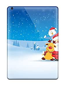 8210583K97126147 2011 Merry Chirstmas Case Compatible With Ipad Air/ Hot Protection Case