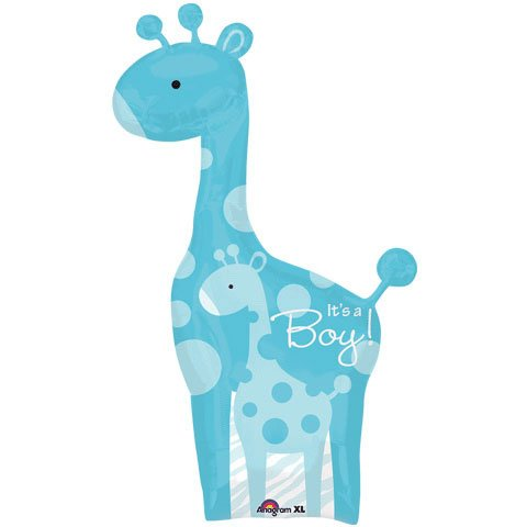 Anagram Sweet Safari It's a Boy Giraffe Baby Shower 42