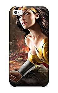 New Style ZippyDoritEduard Hard Case Cover For Iphone 5c- Wonder Woman