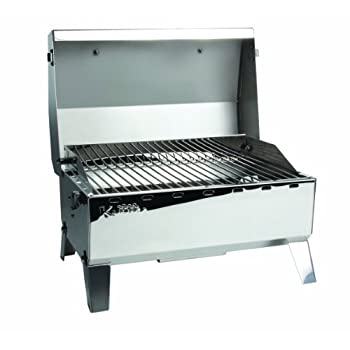 Image of Charcoal Grills Kuuma 58140-A Camco 58140 Stow N' Go 125 Gas Grill