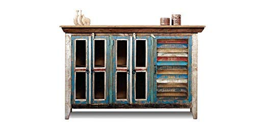 Crafters and Weavers Reclaimed Wood Sideboard Cabinet/Bookcase/China Cabinet/TV Credenza
