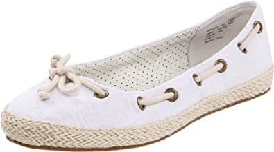 Not Rated Women's Buzzing Espadrille,White,6 M US