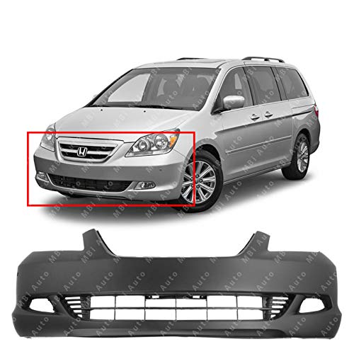 MBI AUTO - Primered, Front Bumper Cover Fascia for 2005 2006 2007 Honda Odyssey Touring 05 06 07, HO1000223 ()