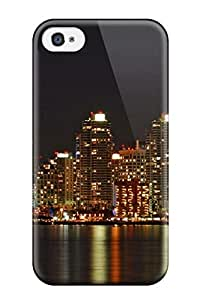 Cute Tpu ZippyDoritEduard San Diego City Case Cover For Iphone 4/4s