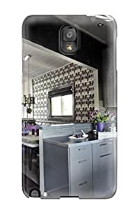 Galaxy Case - Tpu Case Protective For Galaxy Note 3- Open-concept Gray Kitchen And Dining Room
