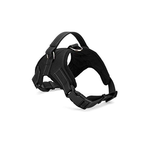 (Black Saddle Style Oxford Cloth Dog Harness Size Xl Soft)