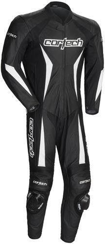 Cortech Latigo 2.0 RR 1-Piece Men's Black Leather Suit - Medium ()