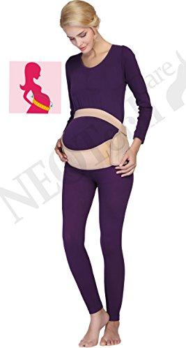 Maternity Pregnancy Support Belt/Brace - Back, Abdomen, Belly Band - NEOtech Care brand - Black - Size M by NeoTech Care (Image #8)