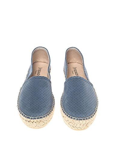 Espadrij Sandals L'originale Black Croisette Bleu Women's nApTwq4
