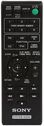 Sony Slim Sleek Micro Shelf Music System With Ipod