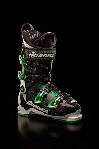 Nordica Speedmachine 120 Ski Boots 2020-28.5/Black-White-Green