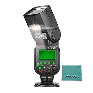 YONGNUO YN968N - Flash inalámbrico TTLlite 1/8000s HSS equipado con luz LED integrada 5600K para cámaras Nikon DSLR compatible con sistema inalámbrico YN622N YN560