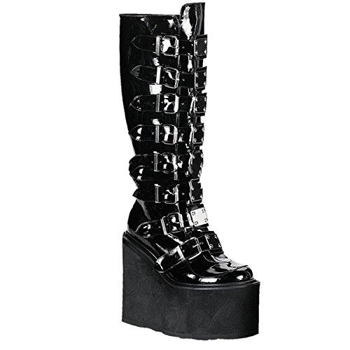 Boots Ankle Women's Demonia Schwarz B Swi815 wqUS4Rv