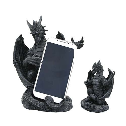 GRENDEL DRAGON GARGOYLE CELL PHONE HOLDER