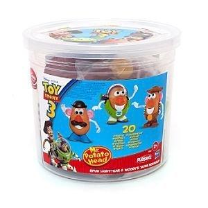 Mr Potato Head Bucket of Parts-20 piece Toy Story 3 play set. by Disney