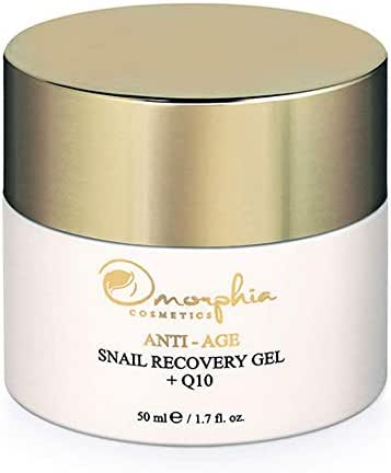 Omorphia Cosmetics Snail Recovery Gel, the Anti Aging Face Snail Cream with Non-Dehydrated Snail Mucin, 50 ml (1.7 fl. oz.), the New Mature Skin Care Products