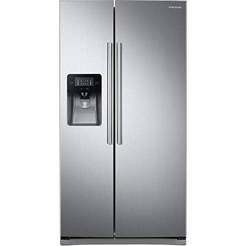 SAMSUNG 25 cu. ft. Side-by-Side Refrigerator RS25J500DSR