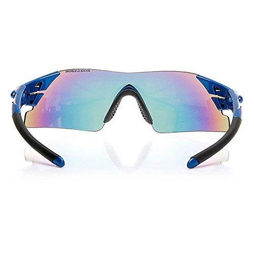 Sin para Color Gafas Bordes Gafas de para Miopía Exteriores para Azul Sol LBY Gafas Sol Deportivas HD Azul Gafas Hombre SvqBTd5xw